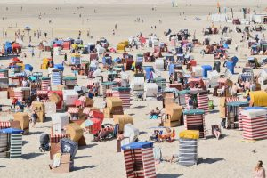 Canary Islands International tourists down by 90%.